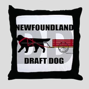 Draft Dog (DD) Throw Pillow