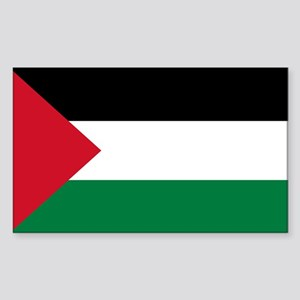 Palestinian Flag Sticker (Rectangle)