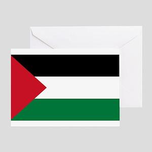 Palestinian Flag Greeting Card