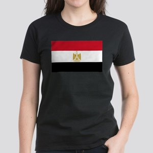 Egyptian Flag Women's Dark T-Shirt