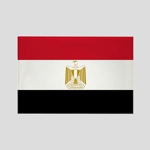 Egyptian Flag Rectangle Magnet