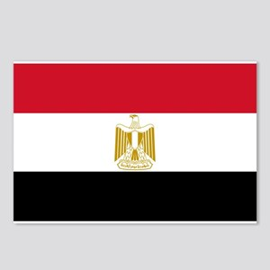 Egyptian Flag Postcards (Package of 8)