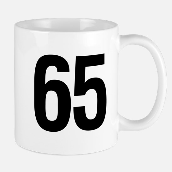 65 Helvetica Mug
