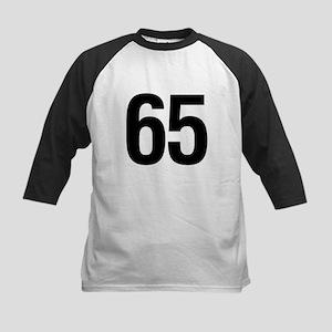 65 Helvetica Kids Baseball Jersey