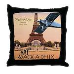 Wack-A-Deux Throw Pillow