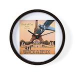 Wack-A-Deux Wall Clock