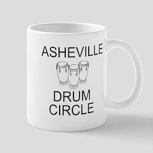 Asheville Drum Circle Mug