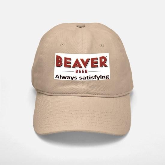 Beaver Beer Baseball Baseball Cap