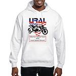 Ural and KMZ motorcycle produ Hooded Sweatshirt
