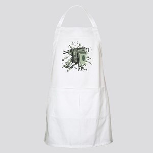 100 Dollar Blot Apron