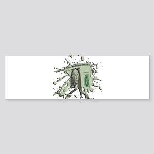1 Dollar Blot Sticker (Bumper)