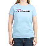 I Love Californication Women's Light T-Shirt
