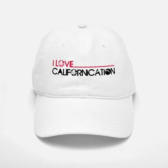I Love Californication Baseball Baseball Cap