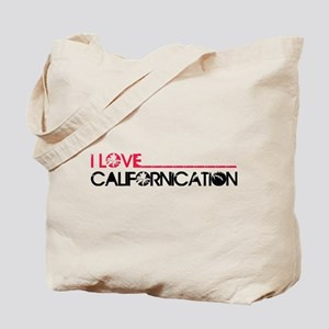 I Love Californication Tote Bag