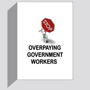 UNIONS MUST GO Greeting Card