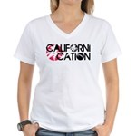 Californication Women's V-Neck T-Shirt
