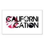 Californication Sticker (Rectangle)