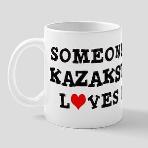 Someone in Kazakstan Mug