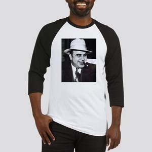 Al Capone w/Cigar Baseball Jersey