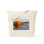 Orange Fall Beauty Tote Bag