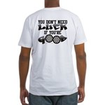 Don't Need Luck If You're Good Fitted T-Shirt