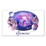 Gemini Rectangle Sticker
