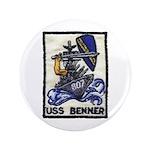 """USS BENNER 3.5"""" Button"""