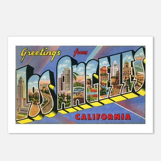 Los Angeles Postcards (Package of 8)