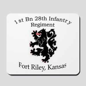 1st Bn 28th Infantry Mousepad