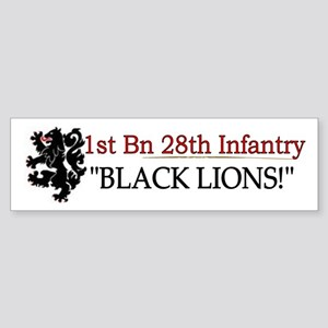 1st Bn 28th Infantry Sticker (Bumper)