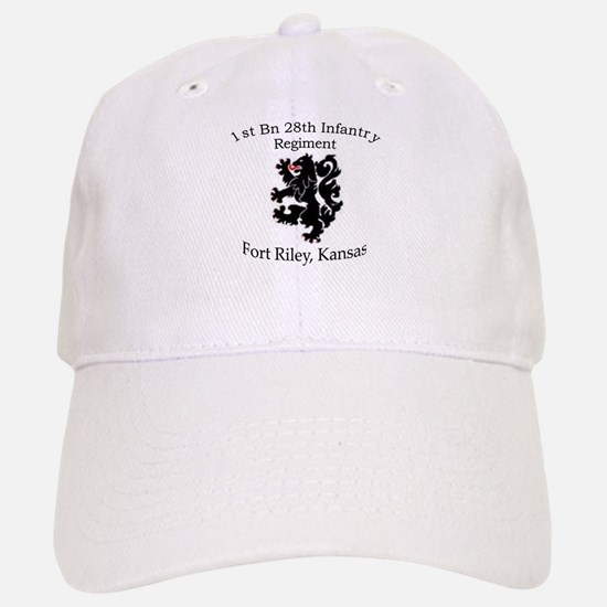 1st Bn 28th Infantry Baseball Baseball Cap