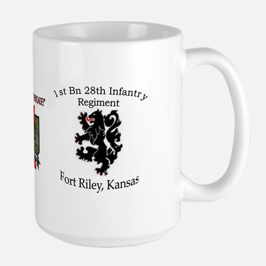 1st Bn 28th Infantry Large Mug