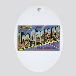 Los Angeles Ornament (Oval)