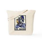 USS BENNER Tote Bag