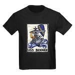 USS BENNER Kids Dark T-Shirt