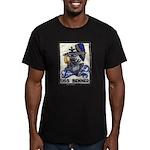 USS BENNER Men's Fitted T-Shirt (dark)