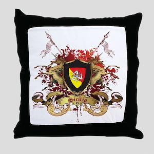 Sicilian Pride Throw Pillow
