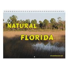 Natural Florida Wall Calendar