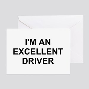 I'm Excellent Greeting Card
