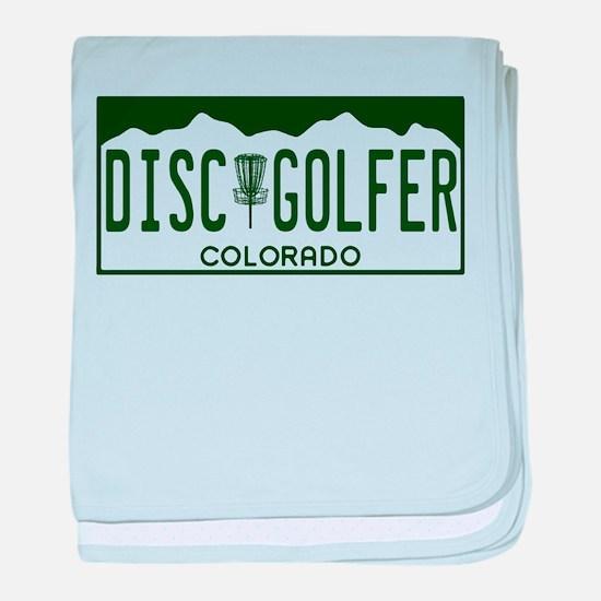 CO Disc Golfer baby blanket