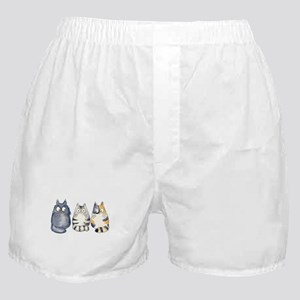 Three 3 Cats Boxer Shorts