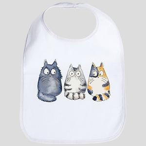 Three 3 Cats Bib