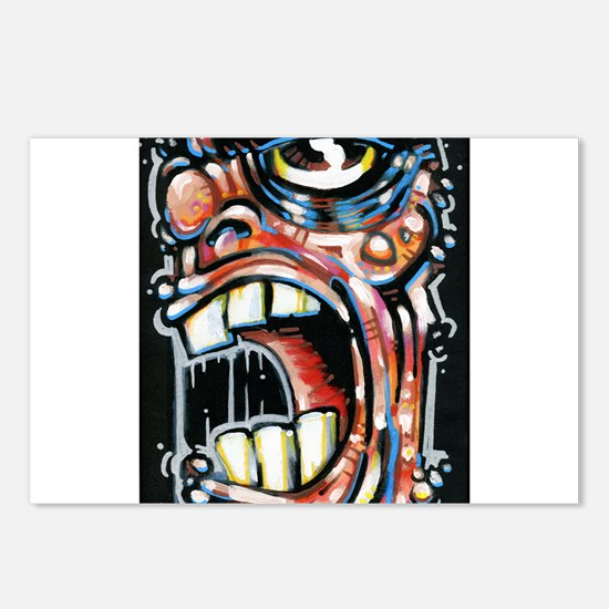 In a Rage Postcards (Package of 8)