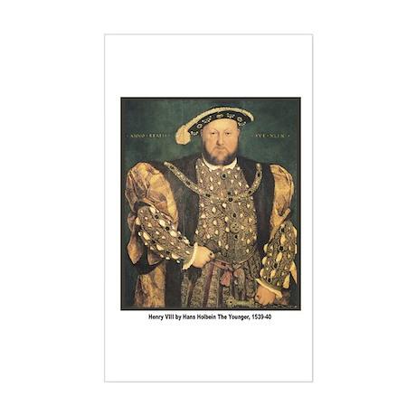 Holbein Henry VIII Rectangle Sticker