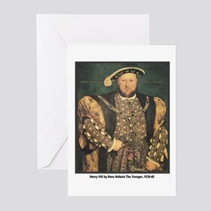 Holbein Henry VIII Greeting Cards (Pk of 10)