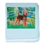 Bridge - Airedale #6 baby blanket