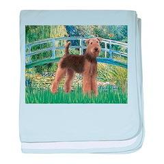 Bridge - Airedale #6 baby blanket