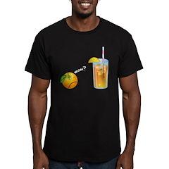 Mom?... Men's Fitted T-Shirt (dark)