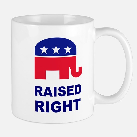Raised Right GOP Mug