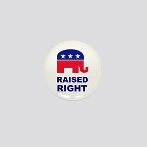 Raised Right GOP Mini Button
